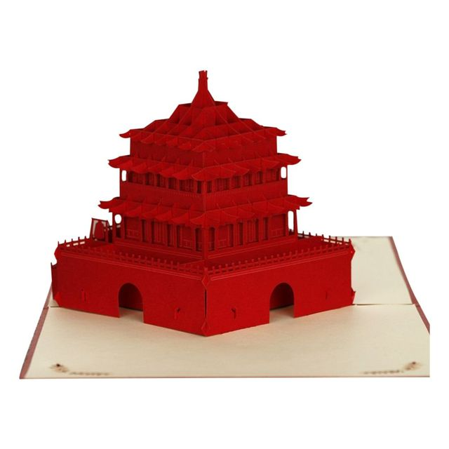 3D Pop Up Cards Creative Paper Craft Greeting For Birthday Wedding Anniversary Graduation Get Well
