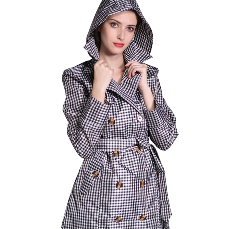 long Raincoats women poncho waterproof Outdoors Rain Ponchos Coat Jackets Female Chubasqueros Impermeables Mujer in Raincoats from Home Garden
