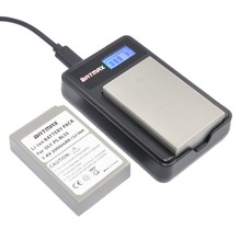 Bateria plus Carregador LCD para Olympus 2000 MAH 2 PCS Bls-5 Bls5 USB Om-d E-m10 PEN E-pl2 E-pl5 E-pl6 E-pm2 Stylus 1