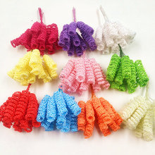 12 PCS (10 cm/beam) artificial bubble fake flower bouquets of elastic roll wedding decoration wreath DIY gift box collage