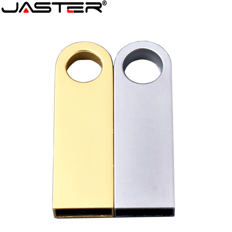 JASTER Metal USB 2.0 Drive Original Memory USB Stick Hot Sale Pendrive 4GB/8GB/16GB/32GB/64GB (10 PCS Free LOGO)