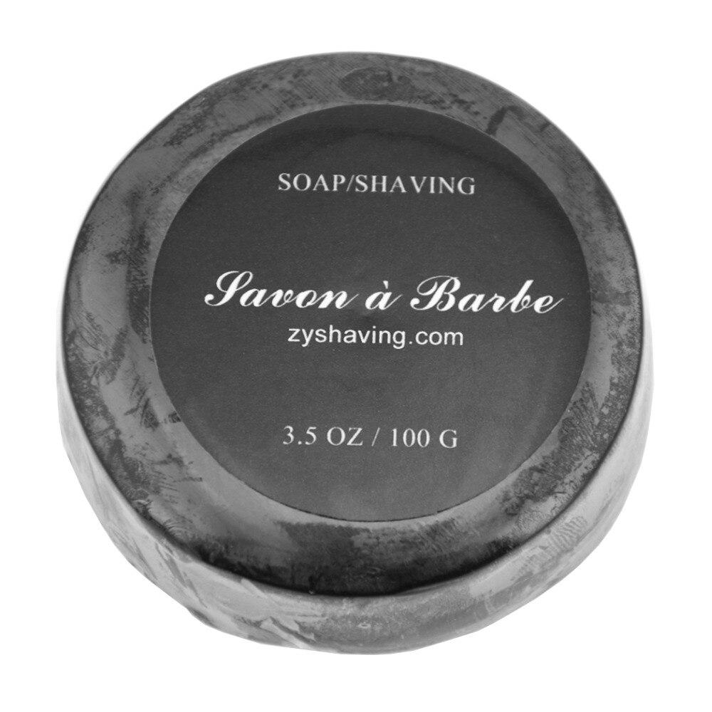 100g Bamboo Men Bead Shaving Handmade Soap Cream Foaming Lather For Razor Barber Salon Face Cleaning Tool