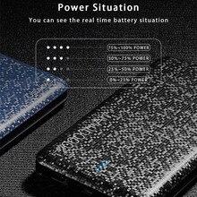 Power Bank 10000mAh Ultra tenká univerzálna externá batéria výstup 2.1A vzor mozaika