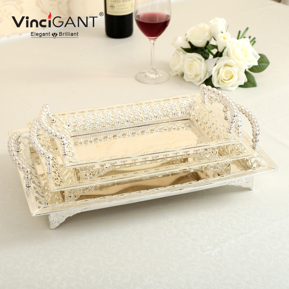 online buy wholesale silver serving tray from china silver serving