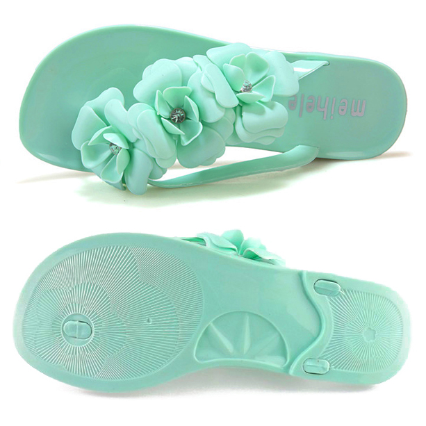 HEBA Flower Women Flat Flip Flops Bohemian Gladiator Women Summer Style Fashion Beach Women's Slippers 2016 flower women sandals flat flip flops bohemian gladiator sandals women summer style fashion beach slippers zapatos mujer