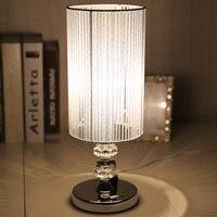 Đơn giản và phong cách đèn bàn phòng ngủ hiện đại đầu giường đèn quà cưới phòng hôn nhân đám cưới đèn bàn incandesce
