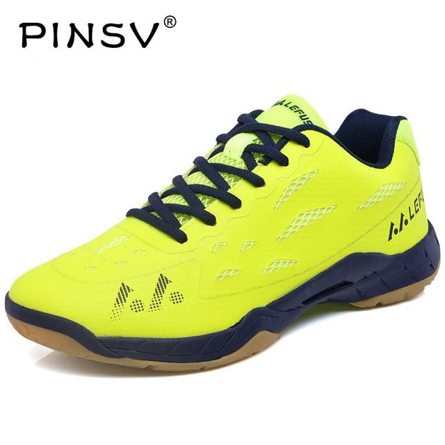PINSV Badminton Shoes Women Men Sneakers Women S Sneakers Training  Breathable Anti-Slippery Light Sneakers Krasovki Men 2017 b088e17d83