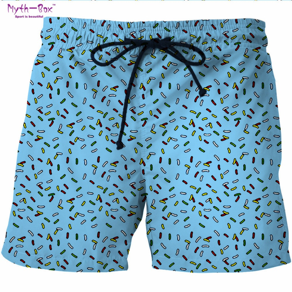 Summer Man's Beach   Shorts   Water Sports Pant Dot Print Brand Loose Gym Surfing   Shorts   Pocket Plus Size Travel Surf   Board   Feminino