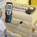 Testo 110 цифровой измеритель температуры со звуковым сигналом-50 до 150 градусов термометр для холодильника  холодильника  холодильной камеры  п...