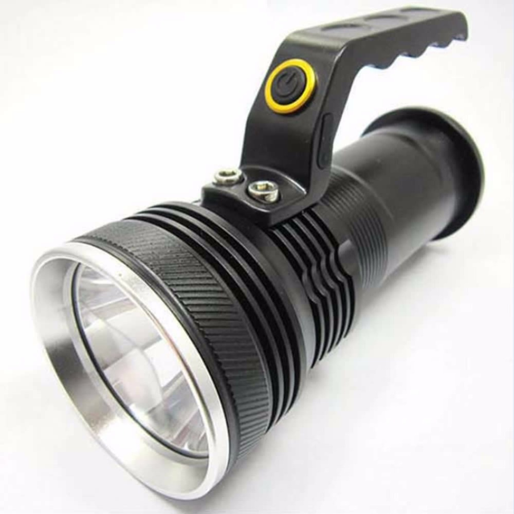 Mayitr Tactical Rechargeable Flashlight 2000LM 3 Modes XM-L LED Handheld Torch Lamp Black For Outdoor Walking Camping Light 3 6v 2400mah rechargeable battery pack for psp 3000 2000