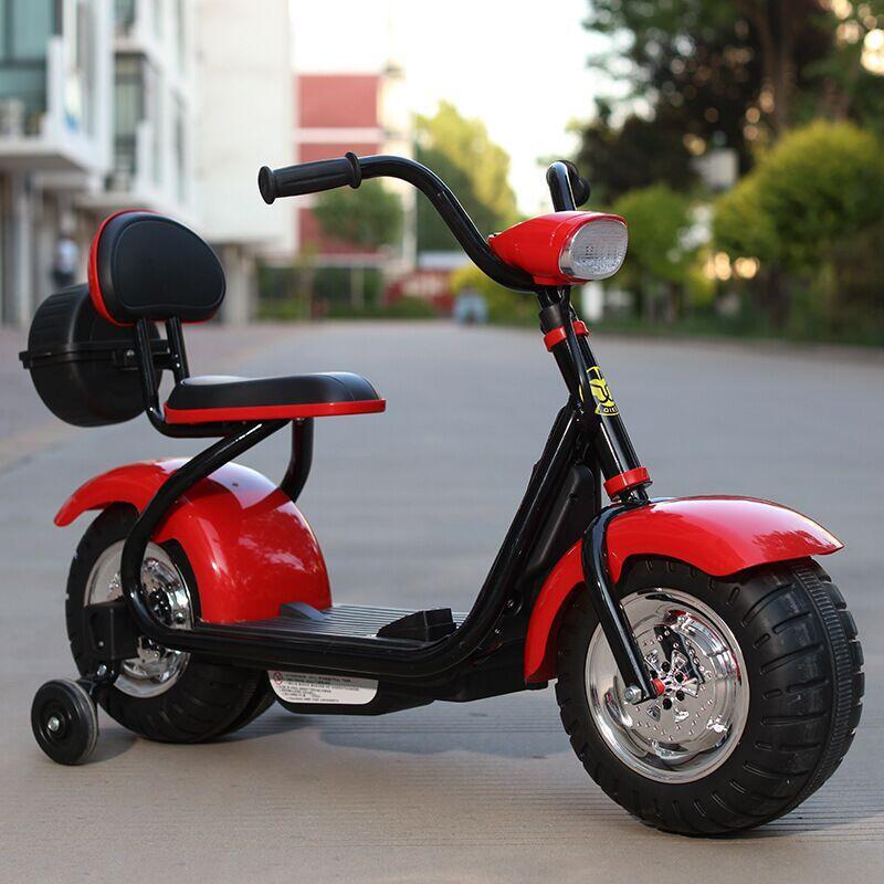Детский мотоцикл с электроприводом для детей 2 5 8 лет, балансировочный автомобиль для мальчиков и девочек, игрушечный балансировочный велосипед
