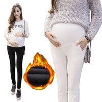 17 stijl! moederschap Broek voor Zwangere Vrouwen Lente Zomer Zwangerschap Kleding Winter Warm Katoenen Broek Zwangere Kleding