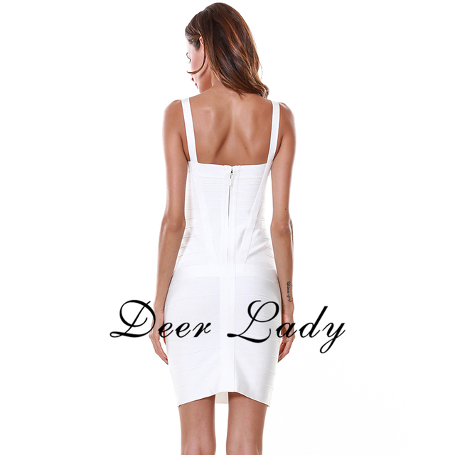 Red Bandage Dress Rayon For Women 2016 Spaghetti Strap Bodycon Dress Sexy Stretch Mini Dresses Black White Blue Bandage Dress HL