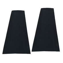 2Pcs 5mm EVA Teak Sheet Flooring Yacht Boat Decking Self-Adhesive Pad Black