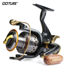 Goture Metal Spinning Fishing Reel SW 5000 6000 9+1BB 5.2:1 Feeder Carp Fishing Wheel & Sea Fishing