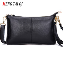 First layer cow leather women messenger bags phone clutch bag high quality genuine leather bag small ladies shoulder bag Flap 1