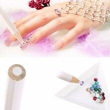 Buy art painters and get free shipping on aliexpress 10pcs nail art rhinestones pencil gem bead pen picker tool nail art painter wax dotting tool prinsesfo Images