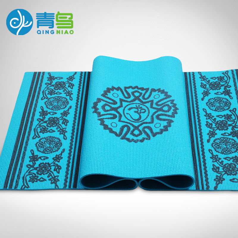 Bluephoenix thickening 8mm yoga mat broadened slip-resistant om yoga mat fitness eco-friendly blanket dmasun slip resistant yoga blanket good quality gymnastics yoga mat towel non slip fitness bikram towels