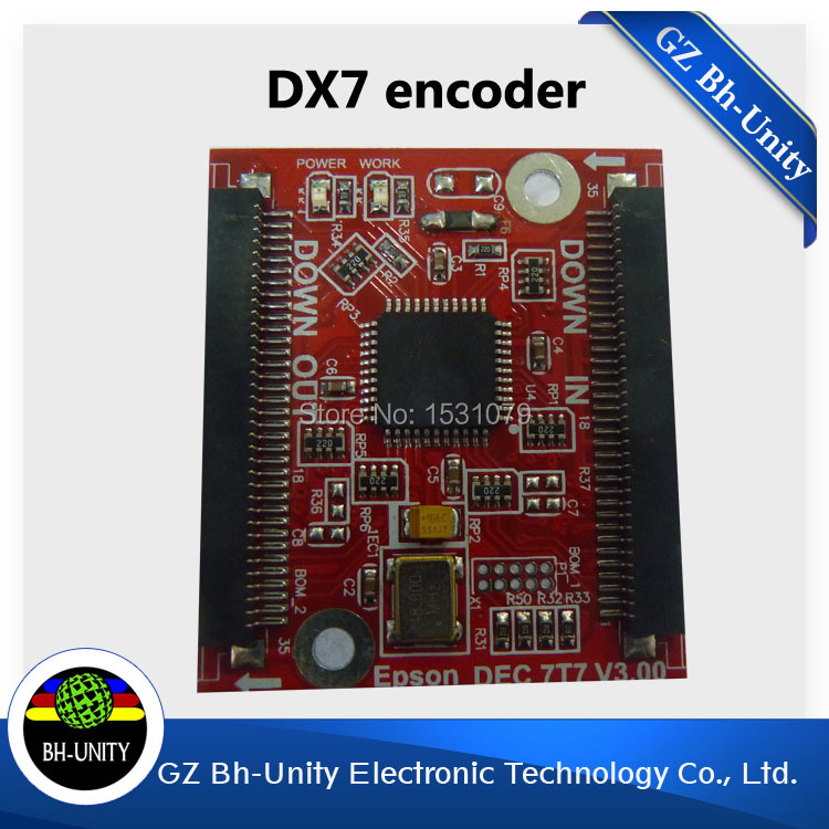 original new universal decryption card for dx7 printhead test dx7