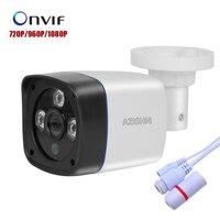 HOBOVISIN Surveillance Camera IP 720P 960P 1080P P2P ONVIF Outdoor Security CCTV Bullet Camera 3pcs ARRAY