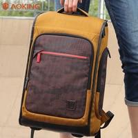 Aoking Vintage Men Women Backpacks School Bags For Teenagers Boys Girls Large Capacity Laptop Backpack Fashion