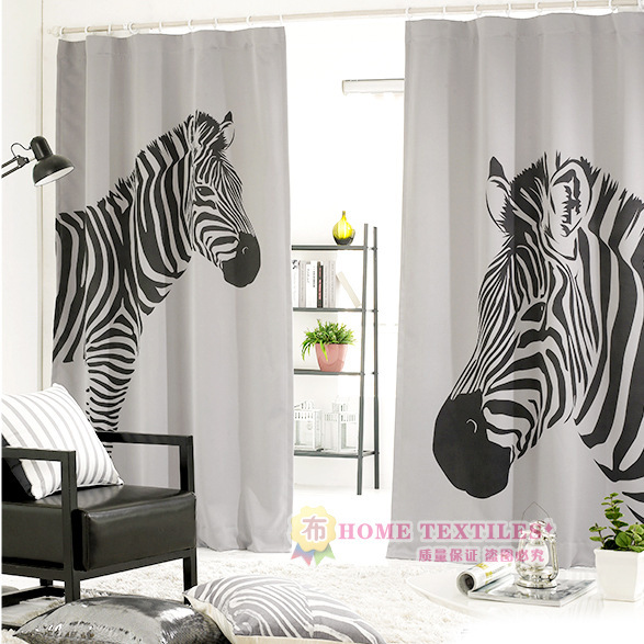2016 Green Fabric Shading Living Room Bedroom Curtains Korean Ike Style  Zebra Print 1 piece 1 4. Popular Zebra Curtains for Bedroom Buy Cheap Zebra Curtains for