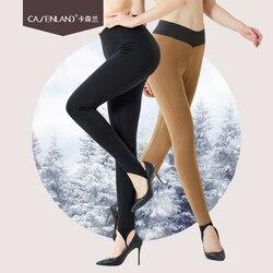 2019 nieuwe dames zijde wol warmte fiber vijf-layer dikke warme broek buiten dragen een broek voet broek