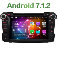 "7"" Android 7.1.2 Quad Core 2GB RAM DAB 3G/4G WIFI SWC Multimedia Car DVD Player Radio Stereo GPS Navi For Hyundai I40 2011-2016"