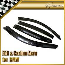 Car-styling For BMW E90 4Dr Carbon Fiber Wind Deflector Glossy Fibre Finish Raining Eyebrow Exterior Trim Racing Auto Body Kit