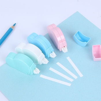 5m Cloud Mini Correction Tape Sweet White Out Stationery School Office Supply 5m candy correction tape white out roller tool school office stationery