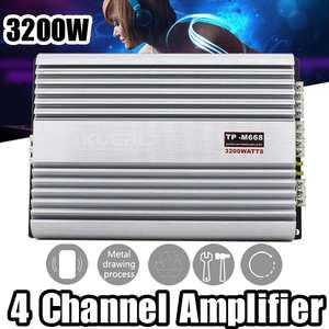 3200W 4 Channel Car Power Ampl