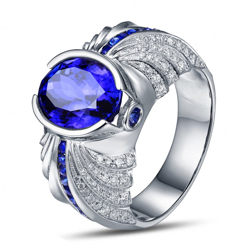 get cheap mens sapphire rings aliexpress