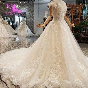 Image 5 - AIJINGYU Wedding Dres Russian Federation Lebanon Shanghai Plus Size Pakistani 2021 2020 Wedding Dresses and Gowns