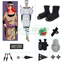 Tayuya Of The Sound Four Halloween font b Cosplay b font Costume set from font b