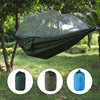 Camping Hammock Tent Lightweight Portable Double Parachute Hammocks Mosquito Nets Nylon Hammock For Outdoor Hiking Backpacking