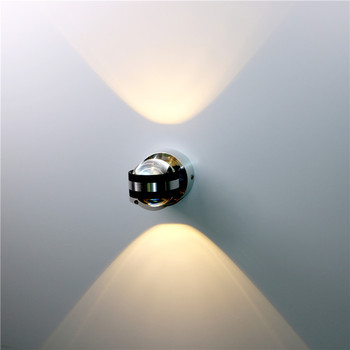 6W LED Aluminium Wall Light LED Indoor Lighting 1