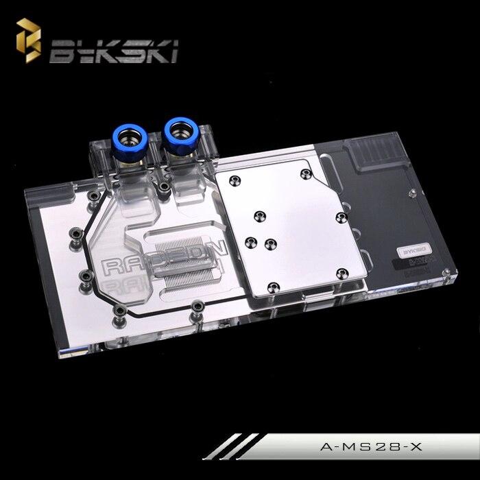 Bykski A-MS28-X for MSI R9 280X GAMING VGA GPU Water Cooling Block laptop keyboard for msi ms 16f1 cx660 cx660r ms 16f2 gx680 gx680r ms 1671 gt780r gx780 gx780r black with frame sw swiss