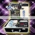 USA Dispatch Professional Tattoo Kit 2 Machines Guns LCD Power Needles Tips Grips Set Equipment Supplies