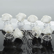 6 Pcs Fashion Pearls Crystal Twists Coils Flower Swirl Spiral Hairpins Wedding Bridal Hair Jewelry Accessories 4 Styles