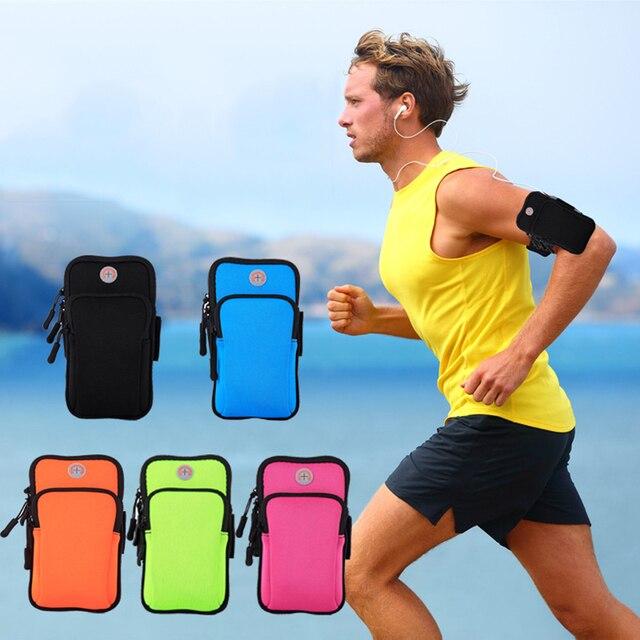 2018 Running Sport Bags Men Women Mobile Phone Arms Package Sport Equipment Jogging Run Bag Accessories Outdoor Climbing Arm Bag 1