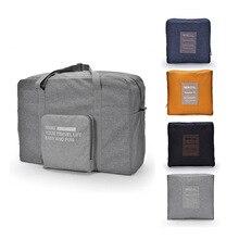Zdokonalená velkokapacitní vodotěsná cestovní cestovní taška pro oděv Úschovna oděvů Tidy Organizér Pouch skladovací taška přenosná taška -FZ