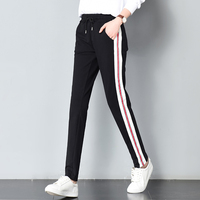 2017 Autumn And Winter New Pants Female Ankle Banded Pants Skinny Pants Casual Pants Haren All