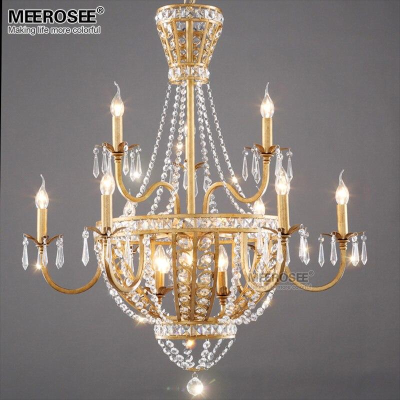 Buy new arrival crystal chandelier lamp - Lamparas para comedor techo ...