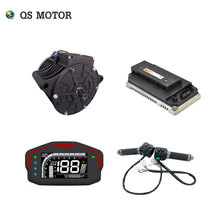 QS 138 3000W 72V 100KPH Mid drive motor power train kits with motor controller