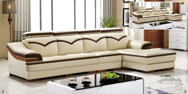 Leather sofa product in China of furniture factory Oppein Italy classic  sofa Living room sofa OS 0114005-in Living Room Sofas from Furniture on ...