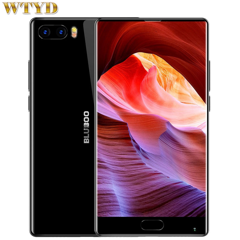 BLUBOO S1 4GB/64GB Fingerprint Identification 5.5'' 2.5D Curved Edgeless Android 7.0 MTK6757 Octa Core up to 2.5GHz 4G OTG