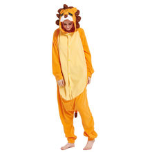 Adults Polar Fleece Lion Animal Kigurumi Womenu0027s Menu0027s Onesies Pajamas Cosplay Costume for Halloween and Carnival Party  sc 1 st  AliExpress.com & Adult Lion Halloween Costume Promotion-Shop for Promotional Adult ...