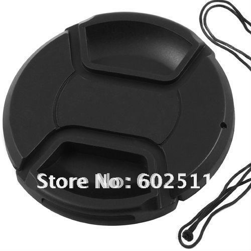 wholesale 52mm center pinch Snap-on cap cover for Canon Nikon 52 mm Lens