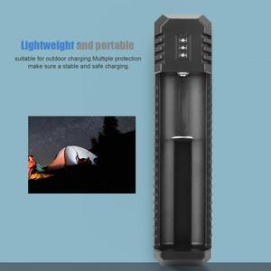 Image 5 - ポータブル USB リチウムイオン電池充電器互換 18650 16340 14500 バッテリー nitecore UI1