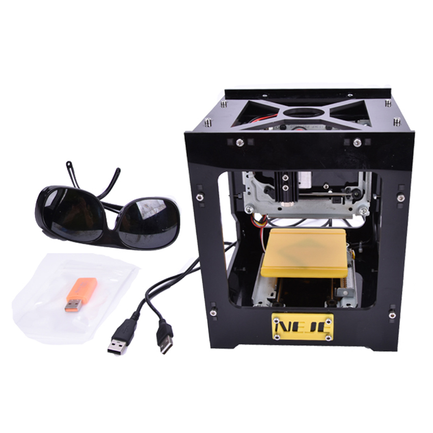 300mW DIY USB Mini CNC Laser Cutter Engraving Machine Laser Printer Engraver For Wood,Plastic,Bamboo,Rubber,Leather And So On цель вижу
